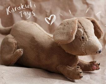 Handmade Plush Toy - Dachshund