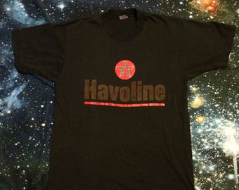 Vintage Havoline Motor Oil Soft T-Shirt