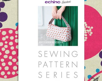 Paper Pattern | Echino Handle Shoulder Bag Pattern JRK904