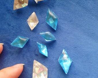 Elsa ice crystals