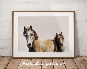 Horse photography, Horse wall art large, Horse photography art print, Wall print horse, Horse art printable, Horse print, Farm animal,