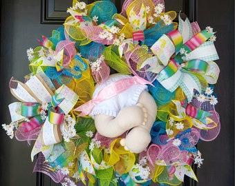 Baby shower wreath - baby boy/baby girl/neutral gender
