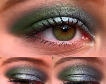 CLOUD 9 Eyeshadow Duo- Get this fun look! Natural Eyeshadow, Vegan Eyeshadow and Eyeliner Makeup