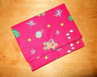 Kleine Geldbörse Visitenkarte Brieftasche Geschenk Karte Halter Weihnachten