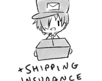 Shipping Insurance Upgrade (US only)