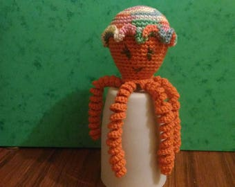 squid Octopus crochet Octopus toy octopus model girl