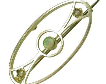 Opal Brooch