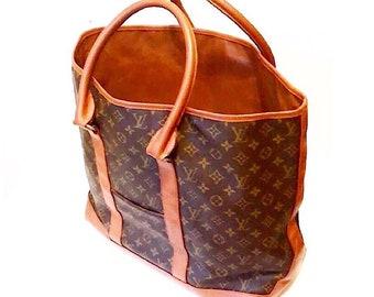 Authentic Vintage Louis Vuitton Monogram Weekender GM Tote Bag