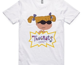 Thugrats - Angelica - Rugrats Parody - T Shirt