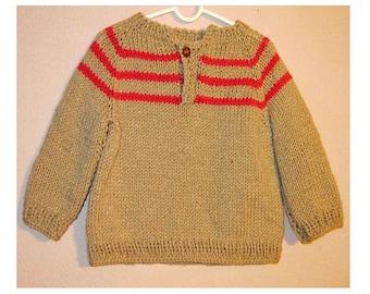 Sweater, Handknit no.1804V