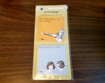 """Some E-Cards Sticky Notes #6510SE, Set of 2, 3"""" x 3"""", 30 Labels Each, 60 Sheets Total"""