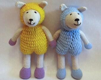 Crochet sheep Amigurumi lamb Stuffed sheep Toy lamb Animal crochet Sheep softie Knitted sheep Hand knitted lamb Toys for newborns Safe toys