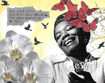 Free - Dr. Maya Angelou
