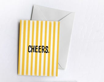 Cheers | Card