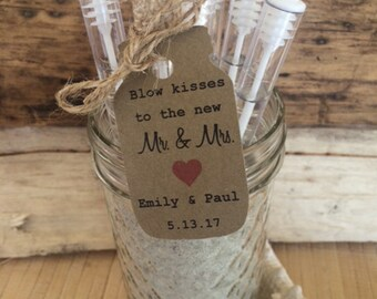 24 Personalized wedding bubbles, bubbles for wedding, mason jar bubbles, custom bubbles, wedding bubble wands