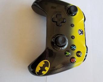 Xbox One S Controller -Custom Painted -Batman