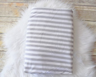 Gray striped swaddle/Gray Swaddle blanket/Striped Swaddle/Baby Swaddle Blanket/ receiving Blanket