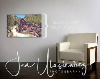 Personalize Any Fine Art Photography Print - make it 16x24 Canvas Gallery Wrap