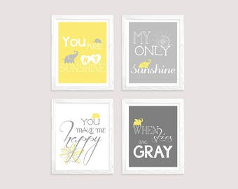 You Are My Sunshine Nursery Wall Art - Instant Download Digital Print