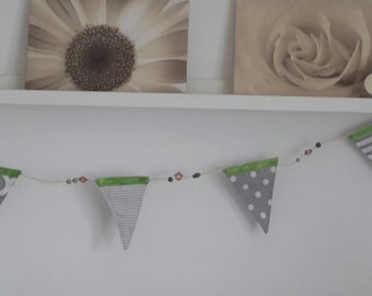 Nursery Bunting Flags Baby Room Decor