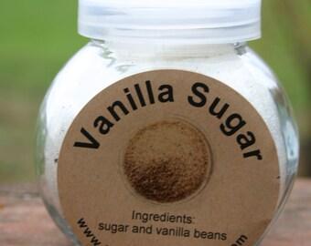 7 ounces Jar of Vanilla Sugar