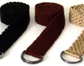 Everyday Adjustable Belts - PDF Crochet Pattern - Instant Download
