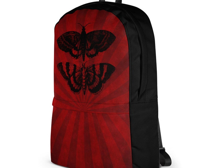 Mothra Backpack- Stripes