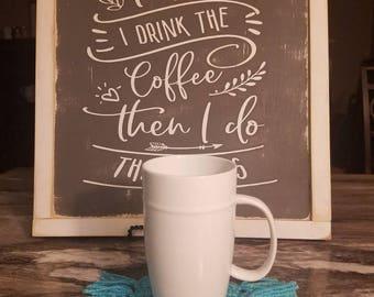 Mug Rug, Mug Rugs, Crochet Mug Rug, Coaster, Mug Rug Mat, Crochet Coaster, Crochet Coasters, Mug Rug Set, Crochet Mug Rugs, Coffee Mug Rug