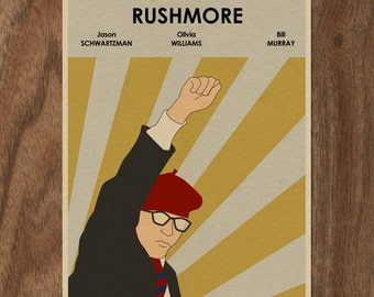 RUSHMORE 22x16 Movie Poster Print