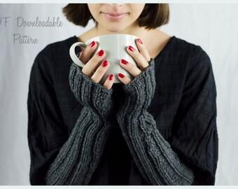 KNITTING PATTERN - Freya Fingerless Gloves