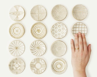 hand carved ring dishes / palo santo or incense burners