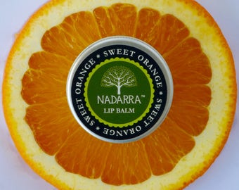 Organic Sweet Orange Lip Balm