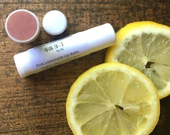 Pink Lemonade Lip Balm Vegan Lip Balm Pink Lip Balm Organic Lip Balm Natural Lip Balm Lip Gloss Vegan Lip Care Gifts For Her