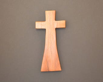 """Wood Cross;Christian Gift; Home Decor; Wood Gifts; Wedding Gift; Salvaged Wood;Mesquite; 5""""x9""""x1""""; Free Ground Shipping USA; cc20-2102617-rs"""