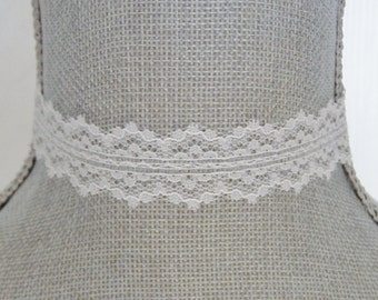 White Lace Choker Necklace - White Choker Necklace -  Bride's Choker - Hipster - Choker - Wedding Necklace - Vintage Lace Choker - Victorian