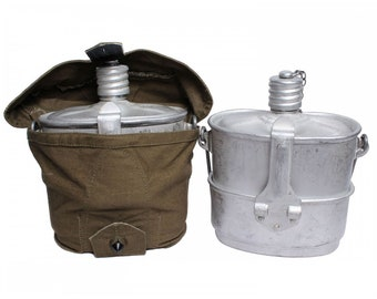 Airborne field FOOD KETTLE & FLASK from Russian Army