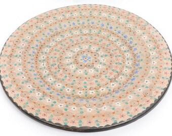 Beautiful Large Hand Painted Decorative Platter