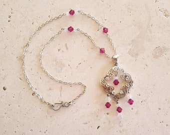 Strawberry dream necklace