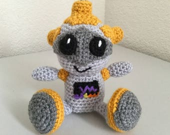 Crochet Robot Pattern - crochet doll pattern - crochet toy pattern - amigurumi pattern crochet - crochet sci-fi pattern Digital Download