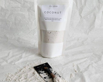 Natural Bentonite Clay and Coconut Milk Bath Soak