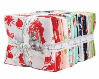 SMITTEN Fat Quarter Bundle 40 F.Q's Bonnie & Camille Moda Fabric August Delivery Preorder