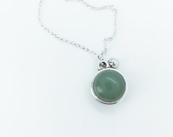Inspirational Necklace DORAH Aventurine Gemstone