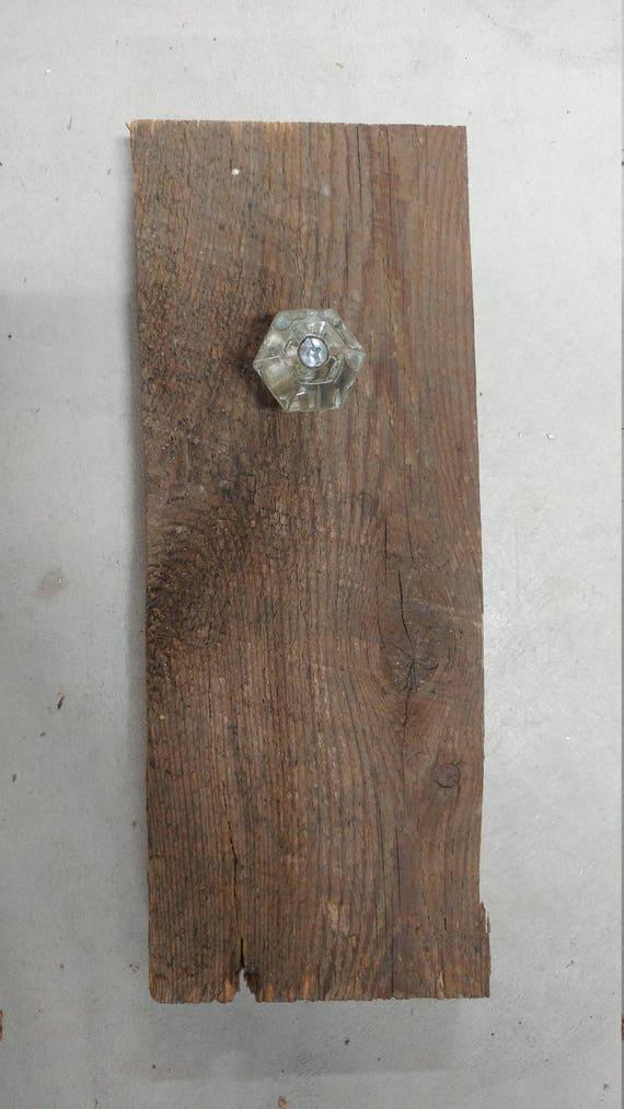 Barn board wall hook