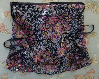 Grace Navy - Adult Extra Small/Teen Chiffon Ballet Wrap Skirt UK 4 - 8