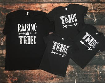 Raising My Tribe Adult t-shirt