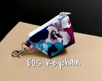 EOS Lip Balm Holder Keychain