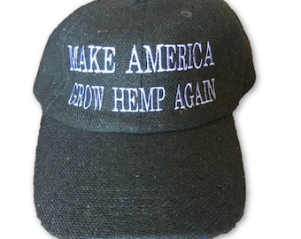 Make America Grow Hemp Again Dad Hat (HEMP Rope)