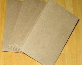 "50 Brown Bag Coin Envelopes  Brown Kraft Paper Mini Envelope 2-1/4"" x 3-3/4"""