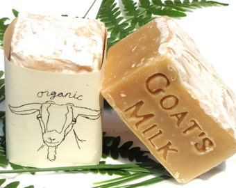 Mountain Goddess - Organic Goat Milk Soap with Eucalyptus Clary Sage and Balsam