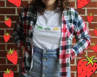 Festive American Sweetheart Flannel